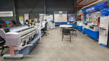 Le showroom Epson disponible à Hyperburo Aubière